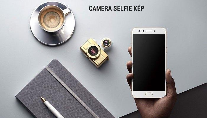 Điện thoại OPPO F3 được trang bị bộ camera kép ở mặt trước độc đáo
