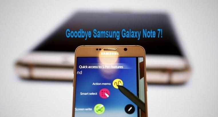 """Thông báo chính thức của Samsung Việt Nam về việc """"khai tử"""" Note 7"""