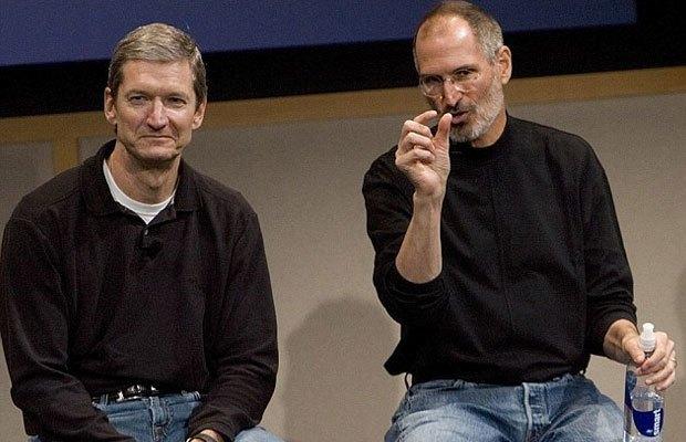 Tim Cook và Steve Job thảo luận khi những ngày Job còn sống