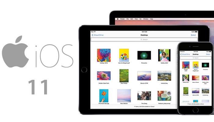 Hệ điều hành iOS 11 sẽ mang đến cho iPad những tính năng vô cùng nổi bật
