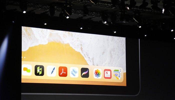 Thanh dock trên iPad không còn giới hạn hiển thị ứng dụng