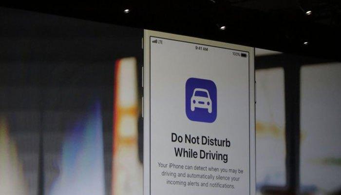 Tính năng không làm phiền khi đang lái xe vô cùng hữu dụng trên iOS 11