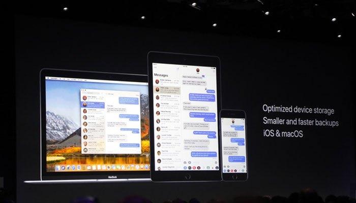 iOS 11 đồng bộ hóa mọi tin nhắn trên iPhone, iPad, Mac