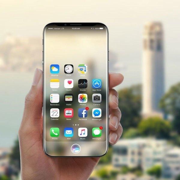 Điện thoại iPhone X hiện lên với vẻ đẹp lung linh