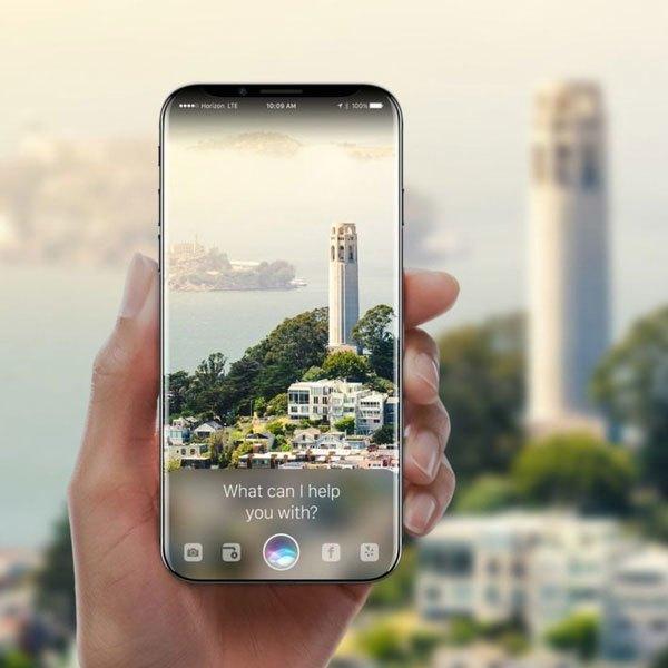 Nhờ màn hình cong tràn nên diện tích sử dụng của chiếc điện thoại này được mở rộng tối đa.
