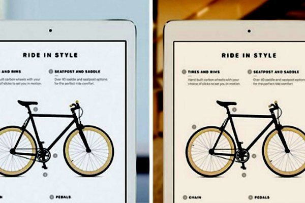 Màn hình máy tính bảng, điện thoại iPhone mới của Apple sẽ tự động điều chỉnh để phù hợp với điều kiện môi trường