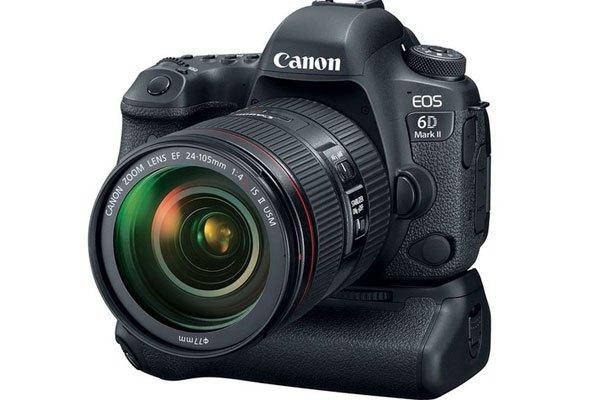 """Khả năng quay video 4K được """"cắt giảm"""" chỉ còn 1080p trên máy ảnh Canon 6D Mark II"""