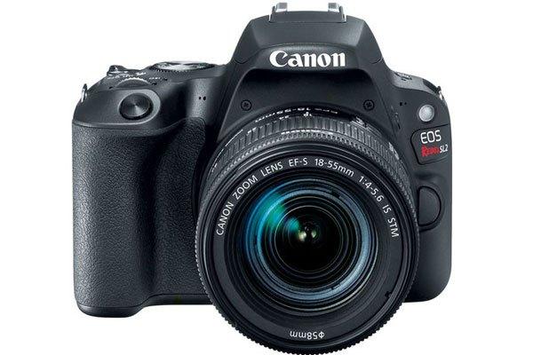 Máy ảnh Rebel SL2 cũng được Canon ra mắt cùng vi xử lý DIGIC 7 mới nhất