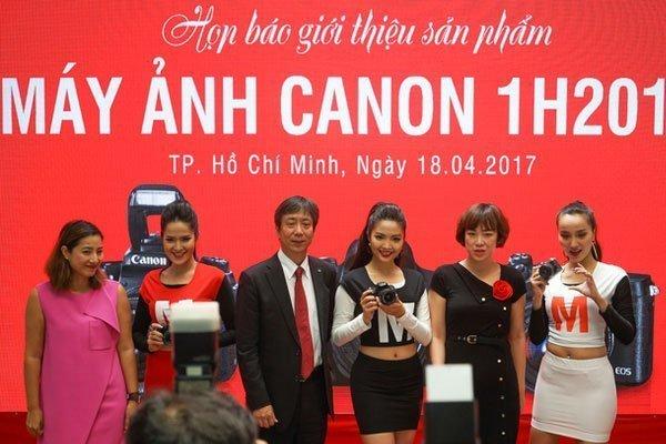 Lễ ra mắt chính thức bộ 3 siêu phẩm máy ảnh nhà Canon