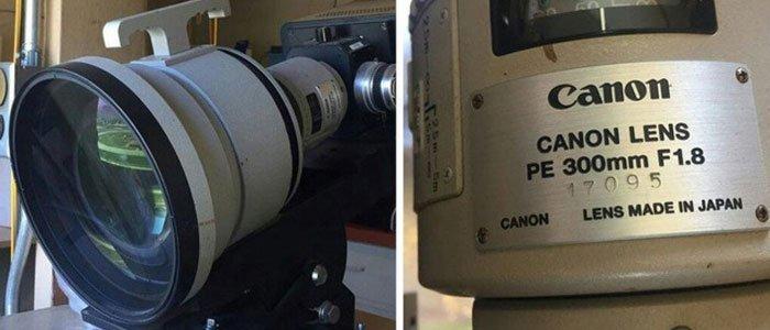 """Chân dung ống kính Canon 1 tấn trong """"truyền thuyết''"""