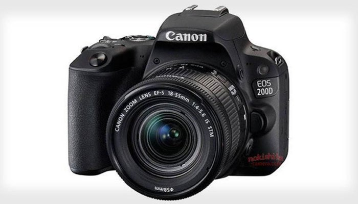 """Máy ảnh Canon EOS 200D - """"người thừa kế"""" đáng mong đợi của dòng Canon SL1"""