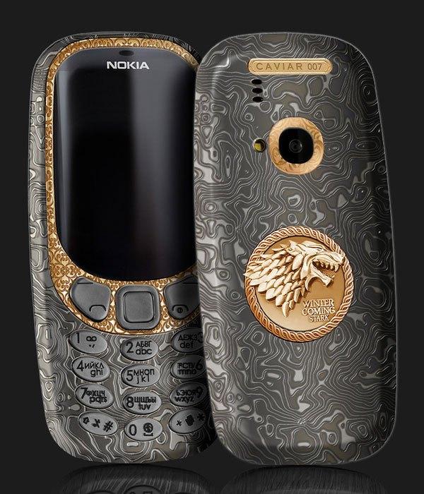 """Liệu ai còn nhận ra đây là chiếc điện thoại """"cục gạch"""" - Nokia 3310 ngày nào của Nokia với phiên bản Game of Thrones đầy lộng lẫy này"""