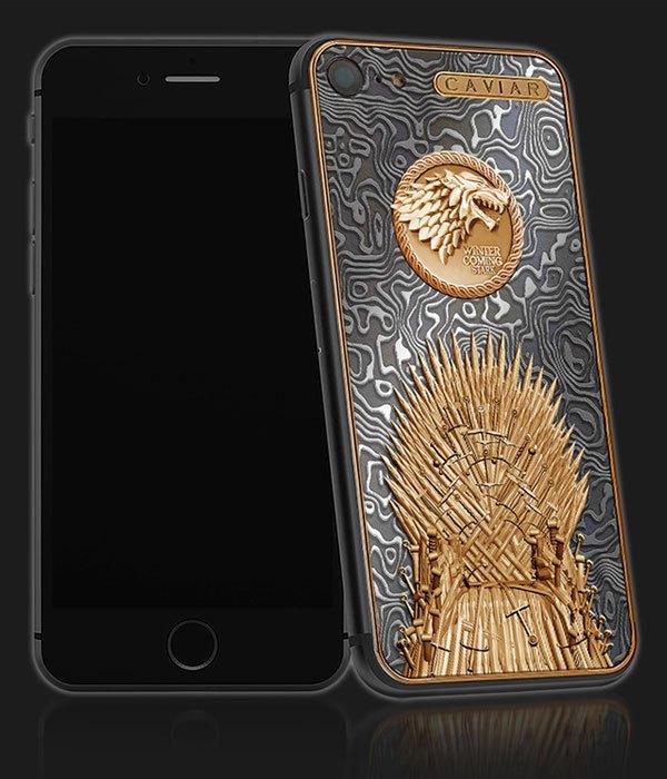 """Bạn có muốn sở hữu chiếc điện thoại iPhone 7""""Game of Thrones"""" đầy đẳng cấp này?"""