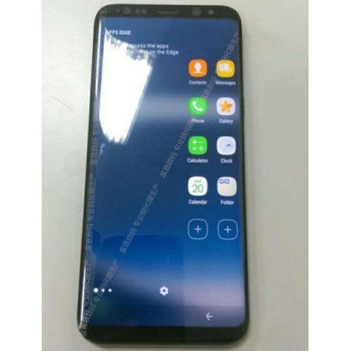 Phím Home vật lý trên điện thoại Galaxy S8 biến mất thay bằng dấu mũi tên phụ trách phím back