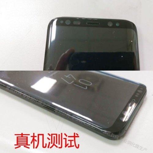 Điện thoại Galaxy S8 sở hữu màn hình cong viền mỏng