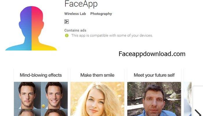 Ứng dụng FaceApp được trang bị cho hệ điều hành Android và iOS miễn phí