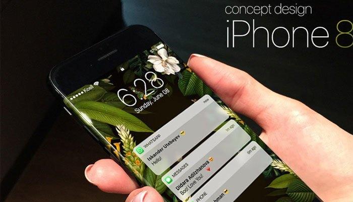 Thiết kế tuyệt đẹp của điện thoại iPhone 8