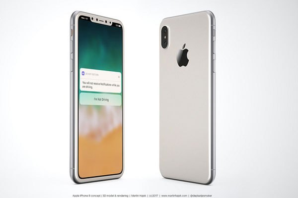Thiết kế của chiếc điện thoại iPhone 8 khác những phiên bản trước