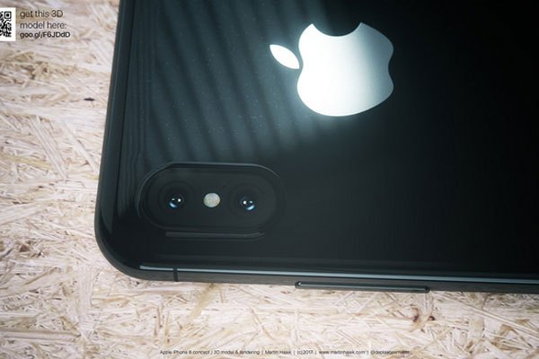 Tương tự trên điện thoại iPhone 7/7 Plus Jet Black, màu đen này có độ bóng khá cao.