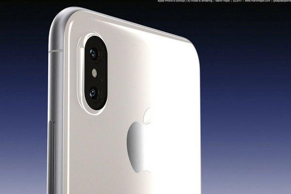 Cụm camera sau của điện thoại iPhone được đặt dọc