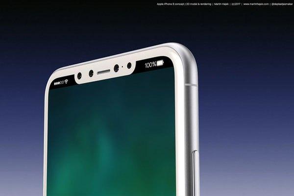 Điện thoại iPhone 8 có màn hình 5.8 inch