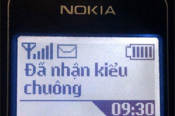 """Liệu bạn còn nhớ cú pháp để tải nhạc chuông trên điện thoại """"cục gạch"""" không?"""