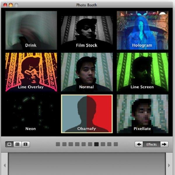 Chụp ảnh bằng webcam của Macbook