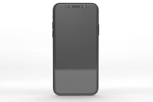 Dung nhan điện thoại iPhone 8 đã đượcForbes tiết lộ