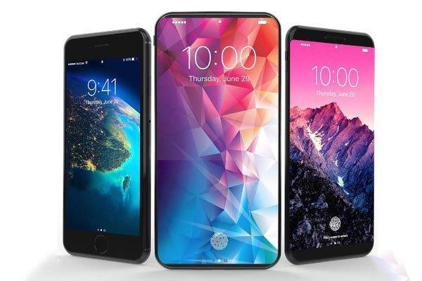 Điện thoại iPhone 8 màn hình cong tràn nổi bật