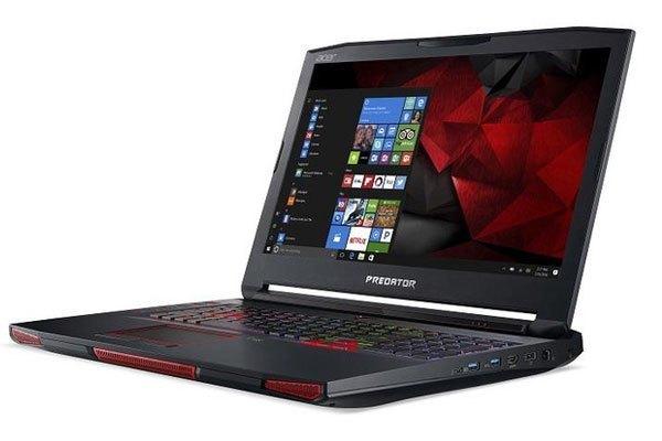 Máy tính xách tay Predator 17 X có mức giá mềm hơn 21 X