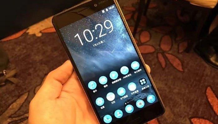 Điện thoại Nokia 6 có màn hình rộng tới 5,5 inch, tấm nền IPS với độ phân giải Full HD.