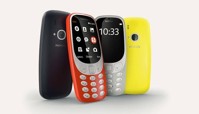 Nokia 3310 vừa được trình làng cách đây không lâu