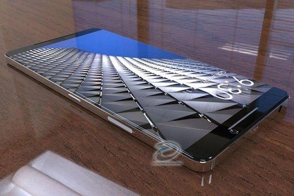 Màn hình điện thoại Nokia 8 được thiết kế mỏng cùng độ cong 2.5D hoàn hảo