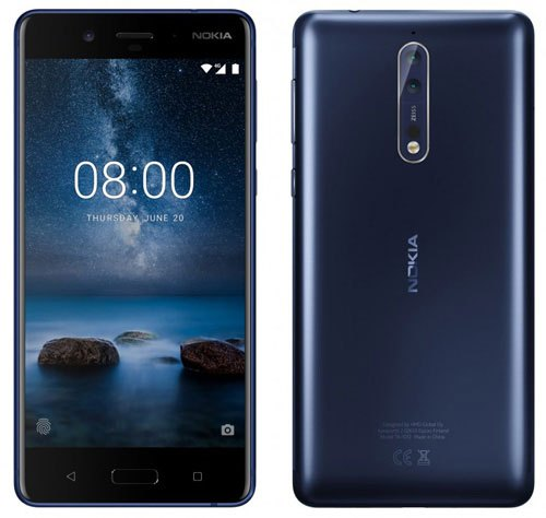 Nokia 8điện thoại tiếp theo hãng