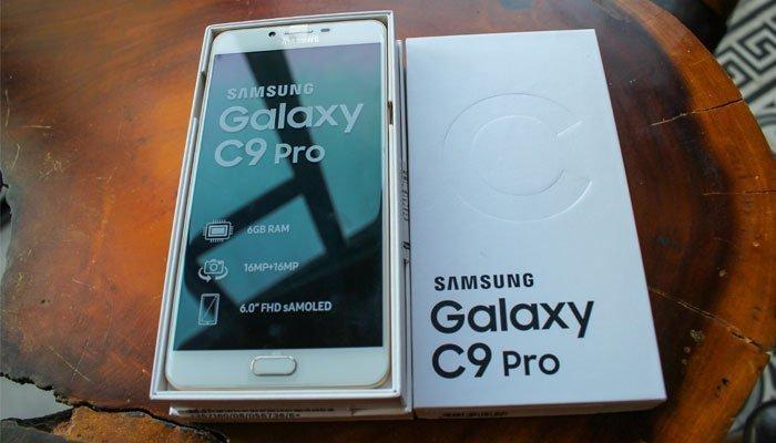 Điện thoại Galaxy C9 Pro sẽ trở thành trợ thủ đắc lực cho các gamer Việt