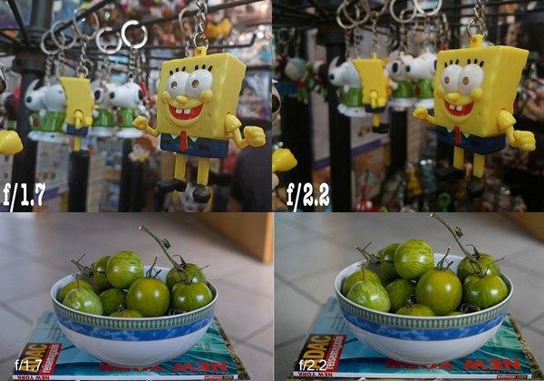 Hình ảnh so sánh điện thoại Galaxy J7 Pro và điện thoại camera F/2.2