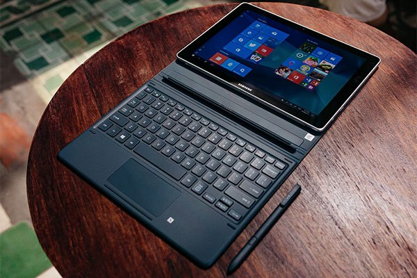 Máy tính bảng Galaxy Book tích hợp sẵn Microsoft Office, hoàn toàn phù hợp cho giới văn phòng