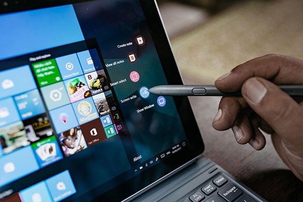 Bút S Pen của máy tính bảng Galaxy Book đã được nâng cấp để đáp ứng tối ưu nhu cầu người dùng