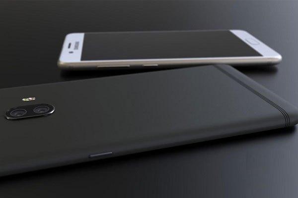 Điện thoại Galaxy C10 thiết kế nguyên khối