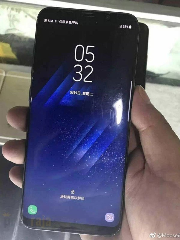 Màn hình Infinity Display với phần bo cong vẫn được trang bị cho điện thoại Galaxy Note 8