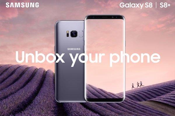 Màu Tím Khói tạo nên sự khác biệt, đẳng cấp cho điện thoại Galaxy S8 Plus
