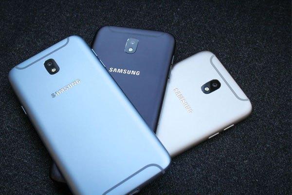 Điện thoại J7 Pro sở hữu màu sắc hiện đại hơn