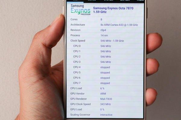 Cấu hình của điện thoại Galaxy J7 Pro khá mạnh mẽ trong phân khúc  tầm trung