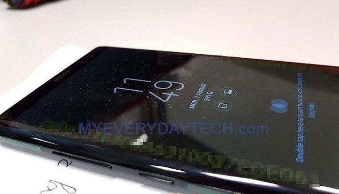 Thiết kế Galaxy Note 8 lộ diện cho người hâm mộ chiêm ngưỡng