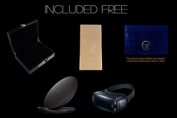 Toàn bộ phụ kiện kèm theo khi bạn mua điện thoại Samsung Galaxy S8/S8 Plus mạ vàng