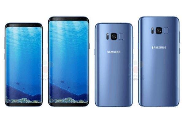 Ngoại hình đẹp lung linh của bộ đôi điện thoại Galaxy S8 và S8 Plus