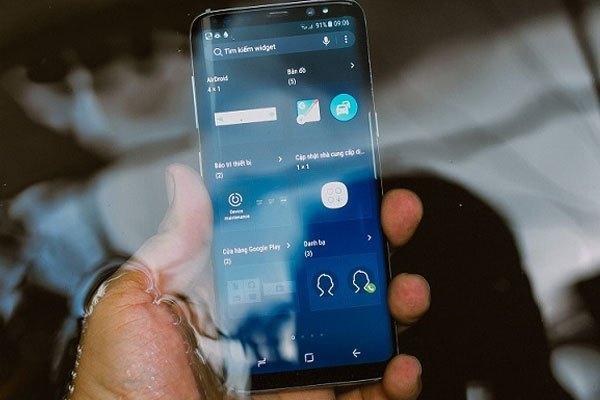 Điện thoại Galaxy S8 với trang bị chipset Exynos 8895 do Samsung tự phát triển