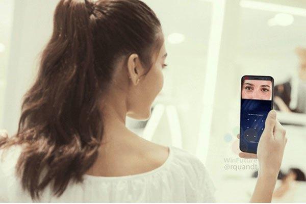Điện thoại Galaxy S8 đã mở ra kỉ nguyên mới cho bảo mật mống mắt