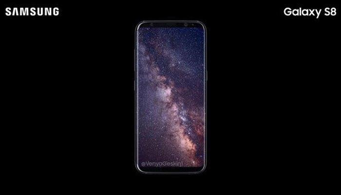 Chiếc điện thoại Galaxy S8 đẹp hoàn hảo trong những bức ảnh rò rỉ