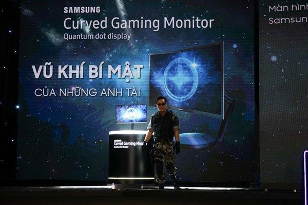 Màn hình máy tính cong CFG70 chính thức được Samsung giới thiệu trên thị trường